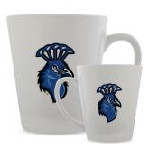 Full Color Latte Mug 12oz-Peacock