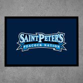 Full Color Indoor Floor Mat-Saint Peters Peacock Nation Banner