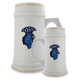 Full Color Decorative Ceramic Mug 22oz-Peacock
