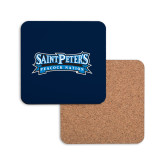 Hardboard Coaster w/Cork Backing-Saint Peters Peacock Nation Banner