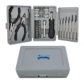 Compact 26 Piece Deluxe Tool Kit-Saint Peters Peacock Nation Banner
