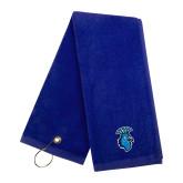 Royal Golf Towel-Peacock