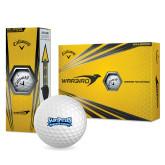 Callaway Warbird Golf Balls 12/pkg-Saint Peters Peacock Nation Banner