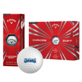 Callaway Chrome Soft Golf Balls 12/pkg-Saint Peters Peacock Nation Banner
