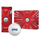 Callaway Chrome Soft Golf Balls 12/pkg-Saint Peters Peacock Nation Banner