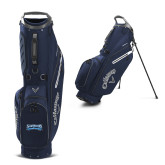 Callaway Hyper Lite 4 Navy Stand Bag-Saint Peters Peacock Nation Banner