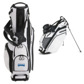 Callaway Hyper Lite 4 White Stand Bag-Saint Peters Peacock Nation Banner