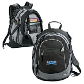 High Sierra Black Titan Day Pack-Saint Peters Peacock Nation Banner