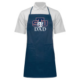 Full Length Navy Apron-Dad