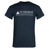 Navy T Shirt-Biscayne College