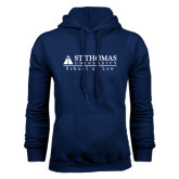 Navy Fleece Hoodie-School of Law