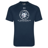 Under Armour Navy Tech Tee-Volleyball Ball Design