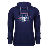 Adidas Climawarm Navy Team Issue Hoodie-STU w/ Bobcat Head