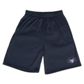 Performance Classic Navy 9 Inch Short-STU w/ Bobcat Head