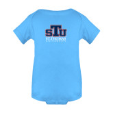 Light Blue Infant Onesie-Official Logo