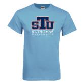 Light Blue T Shirt-Official Logo