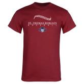 Cardinal T Shirt-Baseball Seams Design