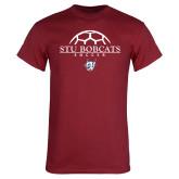 Cardinal T Shirt-Soccer Half Ball Design