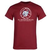 Cardinal T Shirt-Volleyball Ball Design
