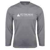 Syntrel Performance Steel Longsleeve Shirt-University Mark