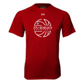 Under Armour Cardinal Tech Tee-Basketball Ball Design