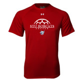Under Armour Cardinal Tech Tee-Soccer Half Ball Design