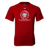 Under Armour Cardinal Tech Tee-Volleyball Ball Design