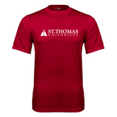Performance Cardinal Tee-University Mark