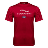 Performance Cardinal Tee-Baseball Seams Design