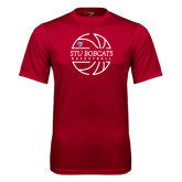 Syntrel Performance Cardinal Tee-Basketball Ball Design