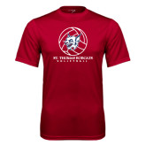 Syntrel Performance Cardinal Tee-Volleyball Ball Design