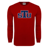 Cardinal Long Sleeve T Shirt-STU
