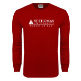 Cardinal Long Sleeve T Shirt-School of Law