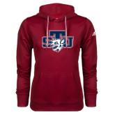 Adidas Climawarm Cardinal Team Issue Hoodie-STU w/ Bobcat Head