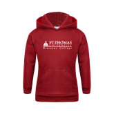 Youth Cardinal Fleece Hoodie-Biscayne College