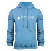 Light Blue Fleece Hoodie-University Mark