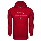 Under Armour Cardinal Performance Sweats Team Hoodie-Baseball Seams Design