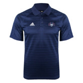 Adidas Climalite Navy Jaquard Select Polo-STU w/ Bobcat Head
