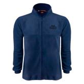Fleece Full Zip Navy Jacket-STU Tone