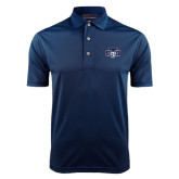 Navy Dry Mesh Polo-STU w/ Bobcat Head
