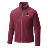 Columbia Full Zip Cardinal Fleece Jacket-Official Logo