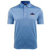 Light Blue Dry Mesh Polo-Official Logo