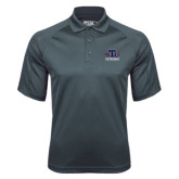 Charcoal Dri Mesh Pro Polo-Official Logo