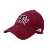 Adidas Cardinal Slouch Unstructured Low Profile Hat-Official Logo