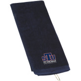 Navy Golf Towel-Official Logo