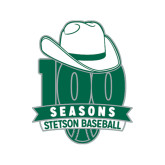Medium Decal-100 Seasons of Baseball