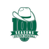 Small Decal-100 Seasons of Baseball