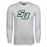 White Long Sleeve T Shirt-