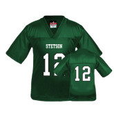 Youth Replica Dark Green Football Jersey-#12