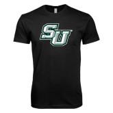 Next Level SoftStyle Black T Shirt-